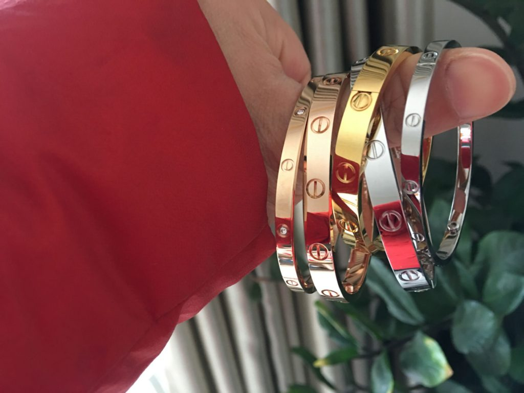 Can I wear Cartier love bracelet: showering, exercising, and sleeping?
