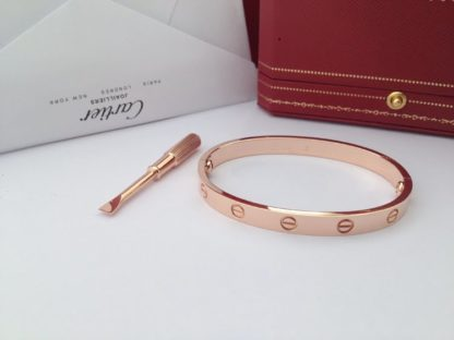 Cartier Love Braclelet Pink Gold