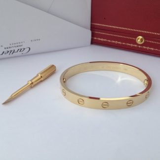 Cartier Love Braclelet Yellow Gold