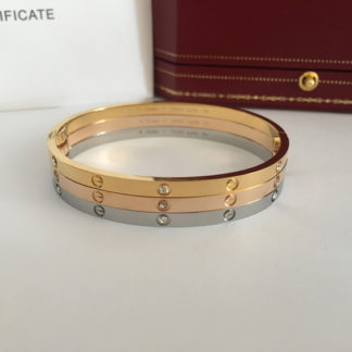 Cartier love bracelet sm diamonds