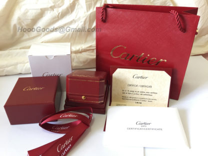 Cartier Red Box Ring packaging sets
