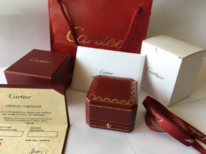 Cartier Ring Box Red Jewelry Packaging Sets