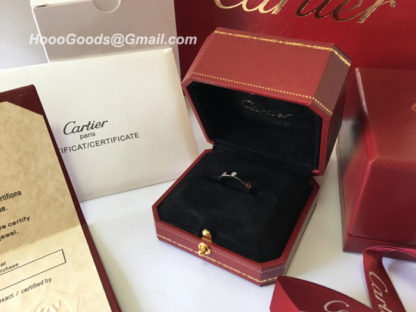 Cartier Love Ring Red Box Packaging