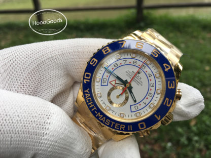 Rolex YACHT-MASTER II Watch 44 mm Oyster yellow gold M116688-0002