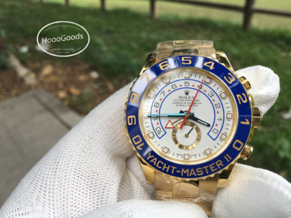 Rolex Professional watches YACHT-MASTER II, Oyster, 44 mm, yellow gold