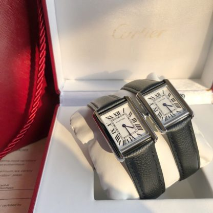 Cartier TANK SOLO WATCH small and large model