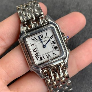Cartier Panthere Watch Medium Steel WSPN0007