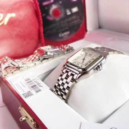 Cartier Panthere Watch Small and Medium white gold