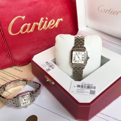 Cartier Panthere Watch Small steel/white gold