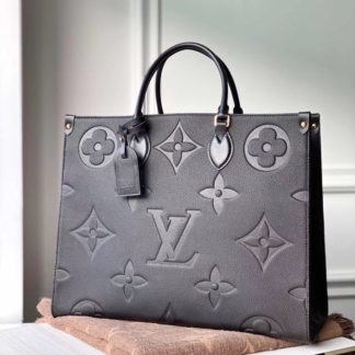 Louis Vuitton OnTheGo GM Black Monogram Empreinte Leather M44925