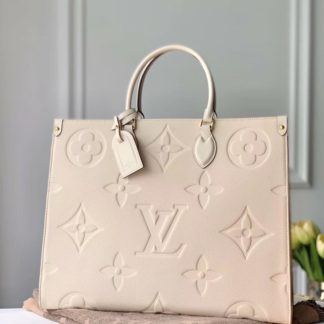 Louis Vuitton ONTHEGO GM Creme Beige M45081