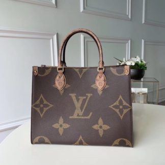 Louis Vuitton Onthego MM Monogram Canvas in Marron M45321