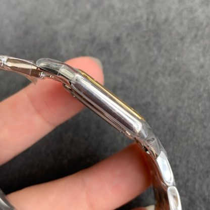 Panthere de cartier watch small model yellow gold and steel