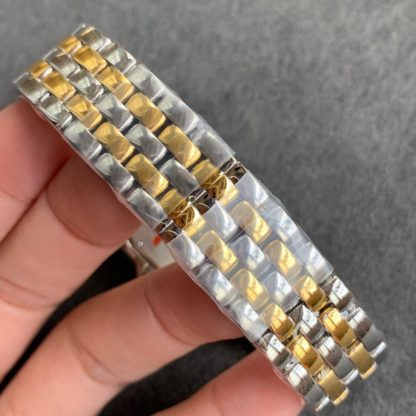 Panthere De Cartier Watch Medium & Small Yellow Gold And Steel_9