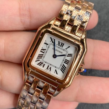 PANTHÈRE DE CARTIER WATCH MEDIUM MODEL, PINK GOLD WGPN0007