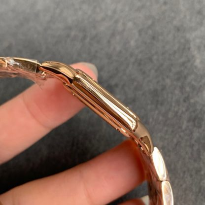 Panthere De Cartier Watch Rose Gold