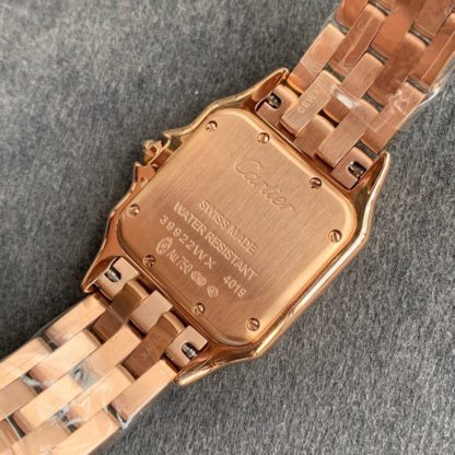 cartier panthère watch rose gold