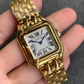 Panthere De Cartier Watch Yellow Gold WGPN0009