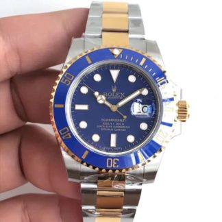 Rolex Submariner Date Yellow Gold/Steel Blue Dial 116613LB
