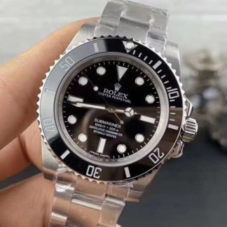 Rolex Submariner No Date 114060 Black Dial Steel Watch