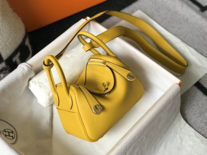 Hermes Lindy 20 Mini Yellow Gold Hardware