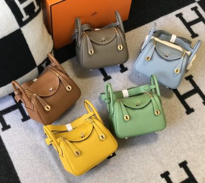 Hermes Lindy 20 in Multiple colors