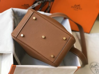 Hermes Lindy 20 Gold