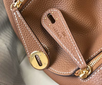 Hermes mini Gold Lindy