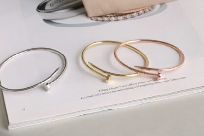 Cartier Juste Un Clou Bracelet sm rose gold, white gold and yellow gold